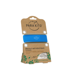 Parakito Bracelet anti-moustiques bleu
