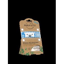 Parakito Bracelet anti-moustiques Enfant Polar bear
