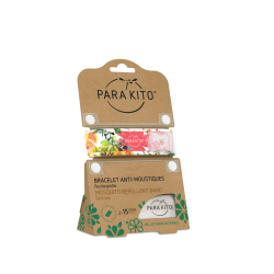 Parakito Bracelet anti-moustiques Flowery
