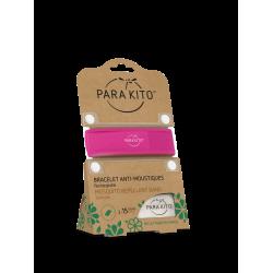 Parakito Bracelet anti-moustiques fuschia