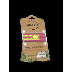 Parakito Bracelet anti-moustiques Pink inca