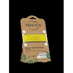 Parakito Bracelet anti-moustiques jaune