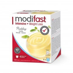 Modifast Intensive Pudding Vanille 9 repas
