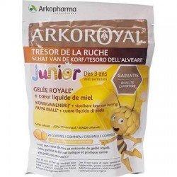 Arkoroyal Gelée Royale + Coeur Miel Liquide 20 Gommes