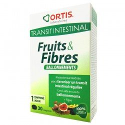Ortis Fruits & Fibres Ballonnement 30 comp