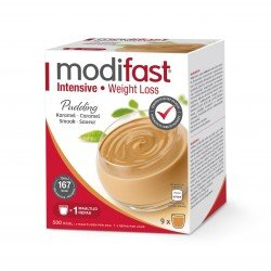 Modifast Intensive Pudding Caramel 9 repas