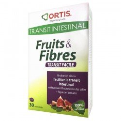 Ortis Transit Intestinal Fruits & Fibres Transit Facile 30 comp