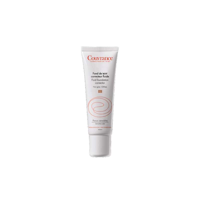 avene couvrance fond de teint correcteur fluide porcelaine 30ml pharmasimple. Black Bedroom Furniture Sets. Home Design Ideas