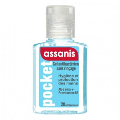 Assanis Pocket Gel Mains Classic 20ml