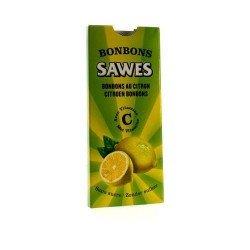 Sawes Bonbon Citron Sans sucre 10 Pièces