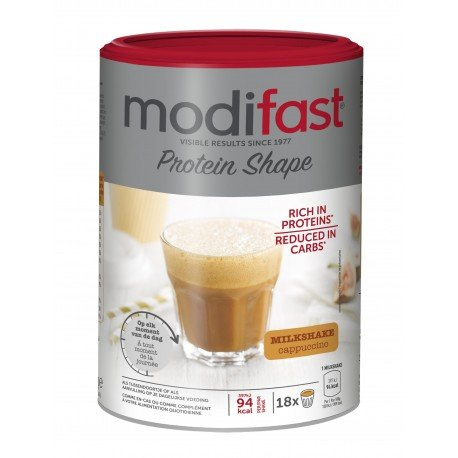 Modifast Protein Shape Milkshake Cappuccino 540g - 18 portions