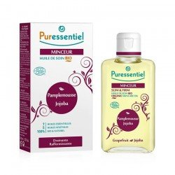 Puressentiel Minceur Huile Massage BIO Pamplemousse Jojoba 100ml