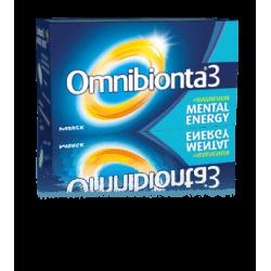 Omnibionta 3 mental energy tabl 30