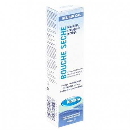 Bioxtra Bouche Sèche Gel Humectant Tube 40ml