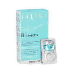 Talika Eye Decompress (boite de 6 masques)