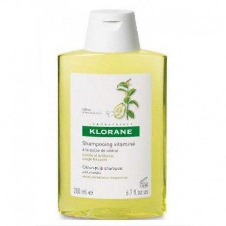 Klorane Shampooing Cedrat brillance légèreté et vitalité 200ml