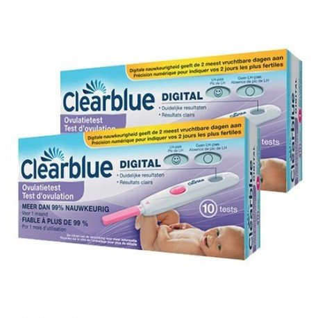 DuoPack Clearblue Test d'Ovulation Digital 2x10 tests