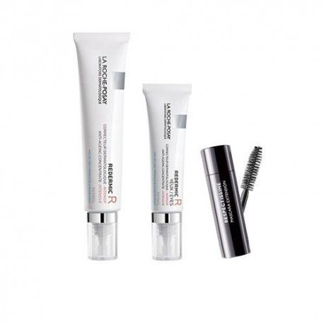 Pack La Roche Posay Redermic R anti-age dermato intensif 30ml + Redermic R Yeux 15ml + Mascara LRP 4,5ml