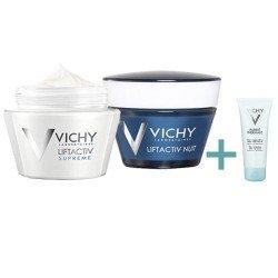 Vichy Pack Liftactiv crème jour + crème nuit peaux normales à mixtes + Crème moussante 50ml offerte