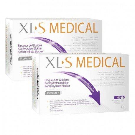 XLS Medical Duo Pack Bloqueur de Glucides 60 comprimés
