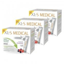 XLS Medical DIRECT TrioPack - Capteur de Graisses 3x90 sticks