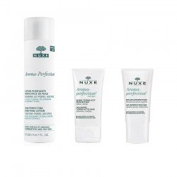 Nuxe Pack Aroma-perfection Lotion purifiante 200ml + Masque thermo-actif 40ml + Creme anti-imperfections 40ml