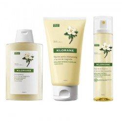 Klorane Pack Rituel pour cheveux ternes (à la cire de magnolia)