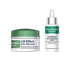 Dermatoline pack Lift Effect Anti-rides Jour 50ml + sérum réparateur 30ml
