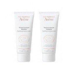 Avene Duo Pack Masque crème apaisant tube 50ml