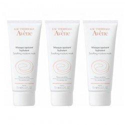 Avene Trio Pack Masque crème apaisant tube 50ml
