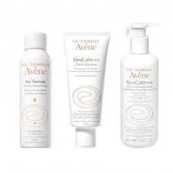 Avene Pack Eau thermale aérosol 150ml + Crème relipidante tube 200ml + Huile lavante relipidante 400ml