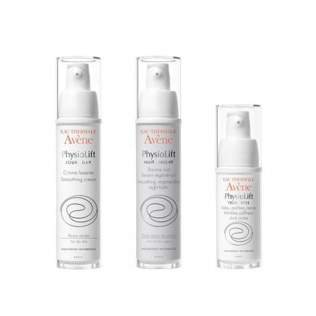 Avene Pack physiolift Jour creme lissante 30ml + Baume lissant regenerant 30ml + Yeux creme 15ml