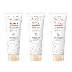 Avene Trio Pack Trixera Nutrition Lait Nutrifluide 200ml