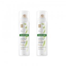 Klorane DUO PACK Shampooing sec avoine teinté spray 150ml