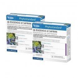 Pileje Duo Pack Phytostandard rhodiole-safran 30 comprimés