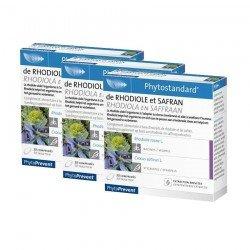 Pileje Trio Pack Phytostandard rhodiole-safran 30 comprimés