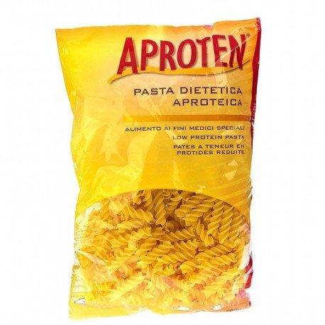 Aproten: pâtes alimentaires (pauvres en protéines et sans gluten) fusilli 500g