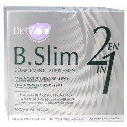 B.Slim Complement Cure minceur 1 semaine 2en1 - 2 x 7 sachets