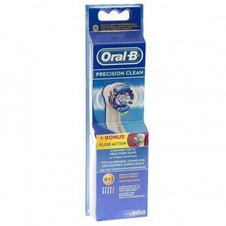Oral b precision clean brossettes 4 1 bonus floss action - Brossettes oral b precision clean ...