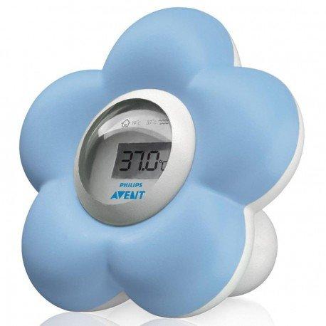 Avent thermometre bain digital fleur