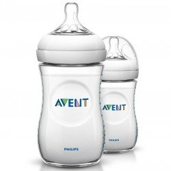 Avent biberon natural 260 ml duo