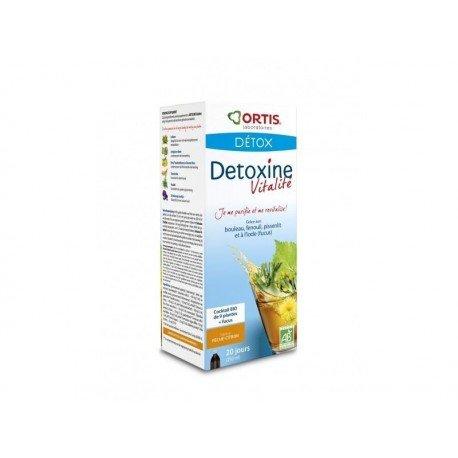 Ortis Détoxine Vitalité BIO pêche-citron 250ml