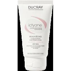 Ducray Ictyane crème emolliente hydratante peaux sèches 50ml