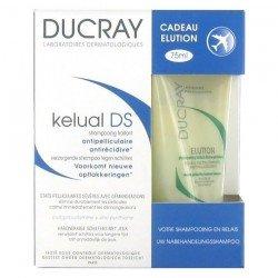 Ducray kelual ds shampoo 100ml + elution 75ml