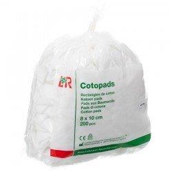 Cotopads pièce de coton 8x10cm 200