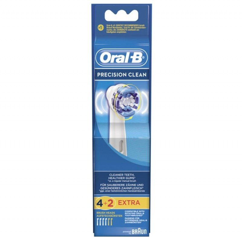 oral b precision clean tete de brosse 4 1 gratuit. Black Bedroom Furniture Sets. Home Design Ideas