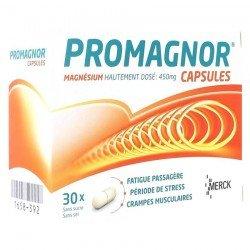 Promagnor Magnésium 30 capsules 450mg