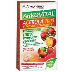 Arkopharma Arkovital Acérola-1000 30 comprimés