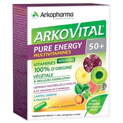 Arkopharma Arkovital Pure Energy 50+ 60 gélules
