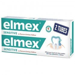 Elmex Sensitive Dentif Tube 2 X 75ml